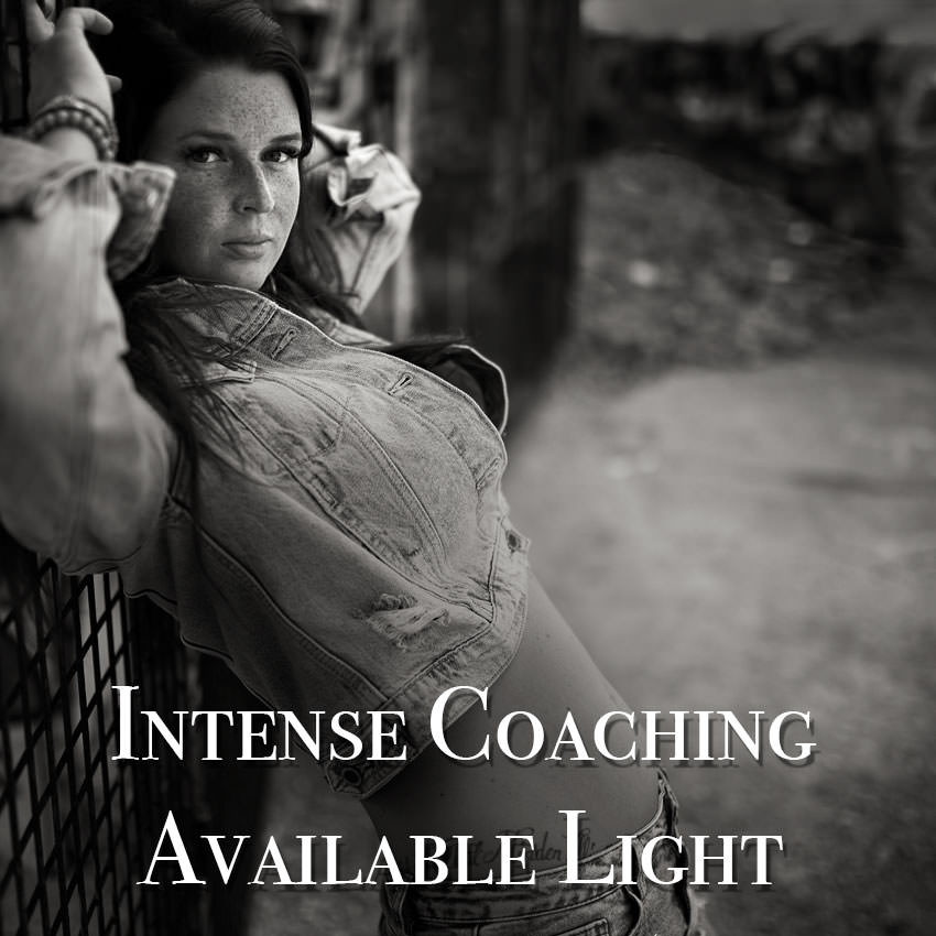 intense Coaching Available Light Schwarzwei Fotografie Ingolstadt Portraitnoir