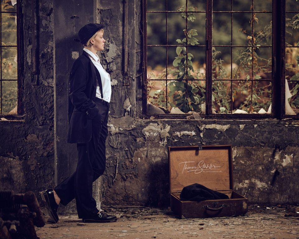 Portrait Fotografie Portraitnoir Lostplaces Thomas Stähler