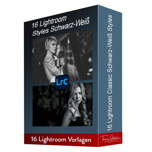 Lightroom Vorlage Styles Schwarz-Weiß Thomas Stähler
